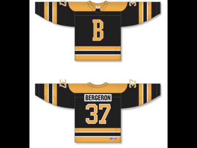 Boston Bruins Alternate Jersey 2019 - 2020