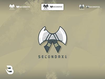 SECONDAXE logo esport logo axe axe game logodesign esports logo branding modern esports logo design