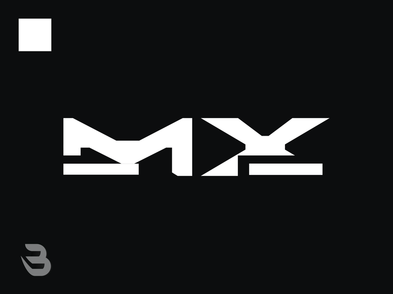 LOGITECH MX branding modern logo
