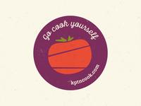 KptnCook Sticker