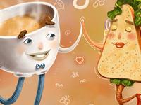 Coffee & Sandwich