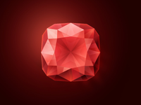 Game icons. Ruby