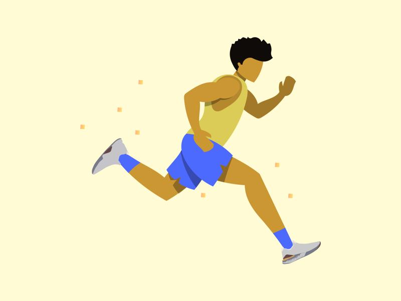 Runner adobe illustrator runner nike graphic illustrator