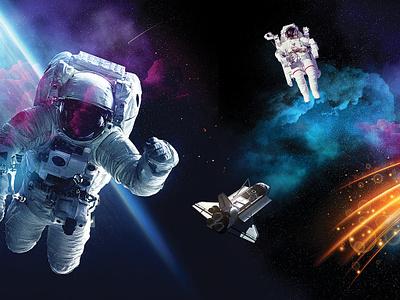 Space Week interior design spaceship astronaut space design