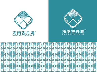 项目20190402 _ 海南香丹清生物科技有限公司 typography vector illustration design