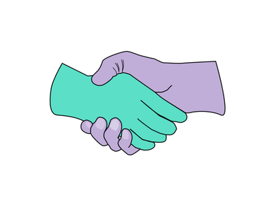 Shaking hands hands agreement