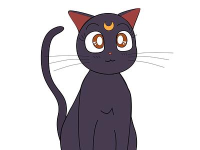 Luna - Sailor Moon cat anime luna sailormoon