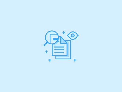 Exploration line illustration vector icon