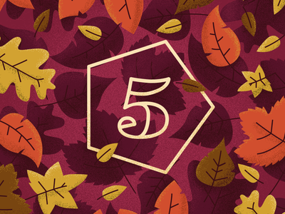 Fall at Element5 pattern leaf fall element5 texture photoshop illustration vector