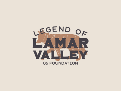 Lamar Valley WIP illustrator 06 legacy wolf logo vector wip
