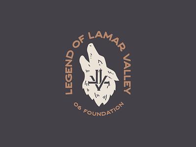 Lamar Valley WIP 2 wip branding 06 lamar valley logo wolf illustration vector