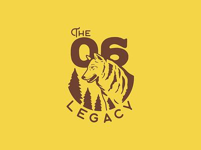 06 Legacy WIP wip wolf logo wolf 06 legacy logo vector