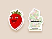 Del Bene Stickers