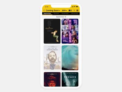 IMDb Redesign - iOS movies app