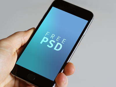 iPhone 6/6s free PSD download