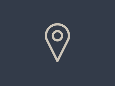 Location icon iconography symbol pin navigation north east west south adventure map location