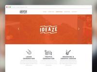 Ideaze, webdesign