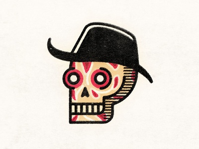 Freddy Skullger horror elm street nightmare on elm street freddy krueger skulltober skull a day halloween skull