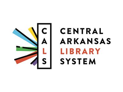 CALS Logo Final fun logo mark logotype energetic modern library brand branding logo design logo