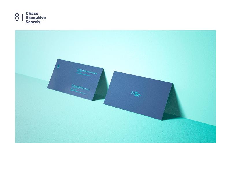 chase executive dribbble branding business card brand identity headhunter brand