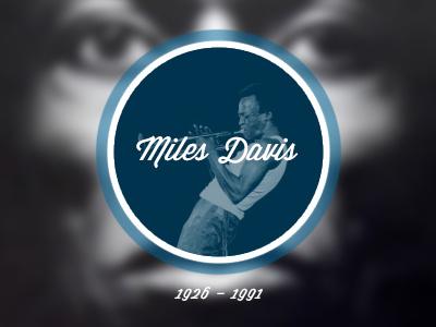 Miles Davis debut miles davis jazz blue memorial