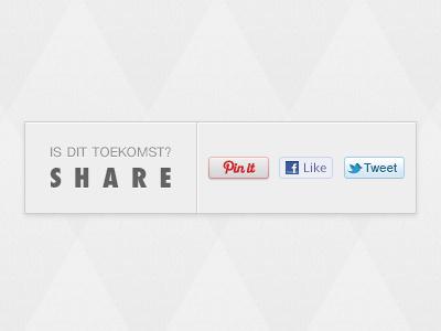Sharing is Caring share pin like tweet future