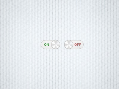 Clean Switch clean switch on off button grunge minimal metal light red green