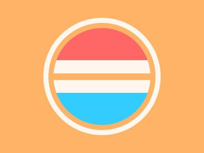 Viva Hollandia icon holland netherlands dutch geometric flag twitter colours colors orange wimpel pepsi