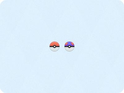 Pokéballs pokéball masterball pokémon 32px icons