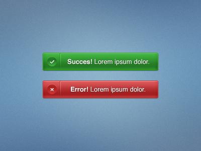 Joyful Notifications tasks succes 404 error ful joyful colorful notifications