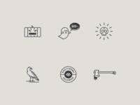 2015 Halloween Icons WIP