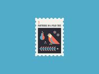 12 Days of Christmas Stamp #1
