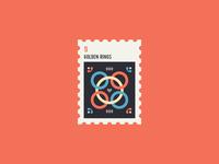 12 Days of Christmas Stamp #5