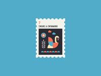 12 Days of Christmas Stamp #7