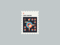 12 Days of Christmas Stamp #9