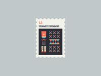 12 Days of Christmas Stamp #12