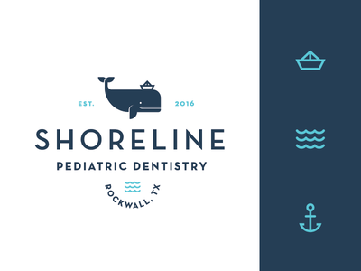 Shoreline Pediatric Dentistry Logo