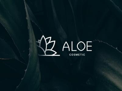 Logo Aloe Cosmetics logo logos logo design
