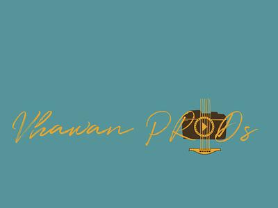 Vhawan PRODs vector music videographer photographer logodesign branding logo flat nepali illustration design