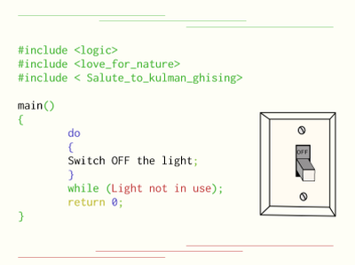 Switch Off Light illustrator code switch off switch illustration light