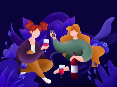 Happy Women s Day party womens day drawing procreate art illustration art illustration dribbble design
