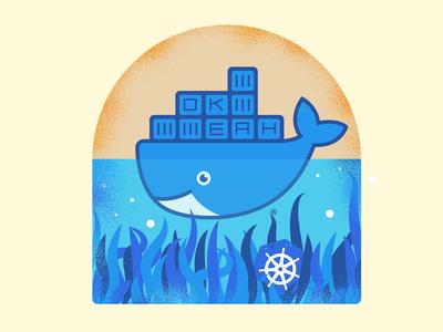 Docker and Kubernetes tshirt