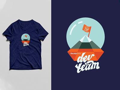 Dev team tshirt receipt dev developers receipt bank tshirt