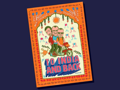 To India And Back receipt bank travel book book cover india