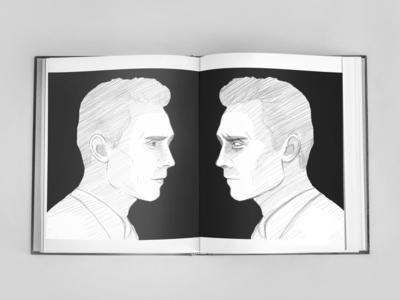 Night Guest book illustration