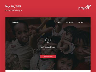 Comic Sans MS Challenge  |  Day 18/365 - Project365 save-kids kids ngo comic-sans-ms font-challenge project365 disruptive-thursday