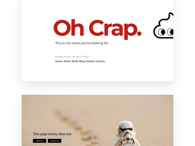 404 Error Pages - 20 Designs - Freebie   Day 54/365 - Project365 ultimate freebie bundle mega error pages 404 minimal freebie sketch project365 sketch-freebie website-freebie freebie-friday