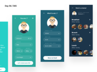 Diet365 - Diet Planner App Concept | Day 56/365 - Project365