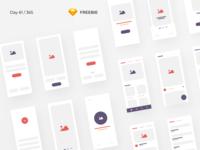 iBlocks - iOS Wireframe Kit Freebie | Day 61/365 - Project365
