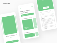 Recipes/Cooking App - Wireframe | Day 80/365 - Project365